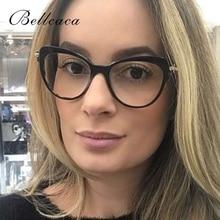 Bellcaca Spectacle Frame Women Myopia Eyeglasses Prescription Computer Optical Clear Lens Eye Glasses For Female BC691
