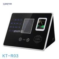 2,8 дюймов TFT отпечаток лица распознавание посещаемость сотрудников машина отпечаток лица контроль доступа машина KT R03