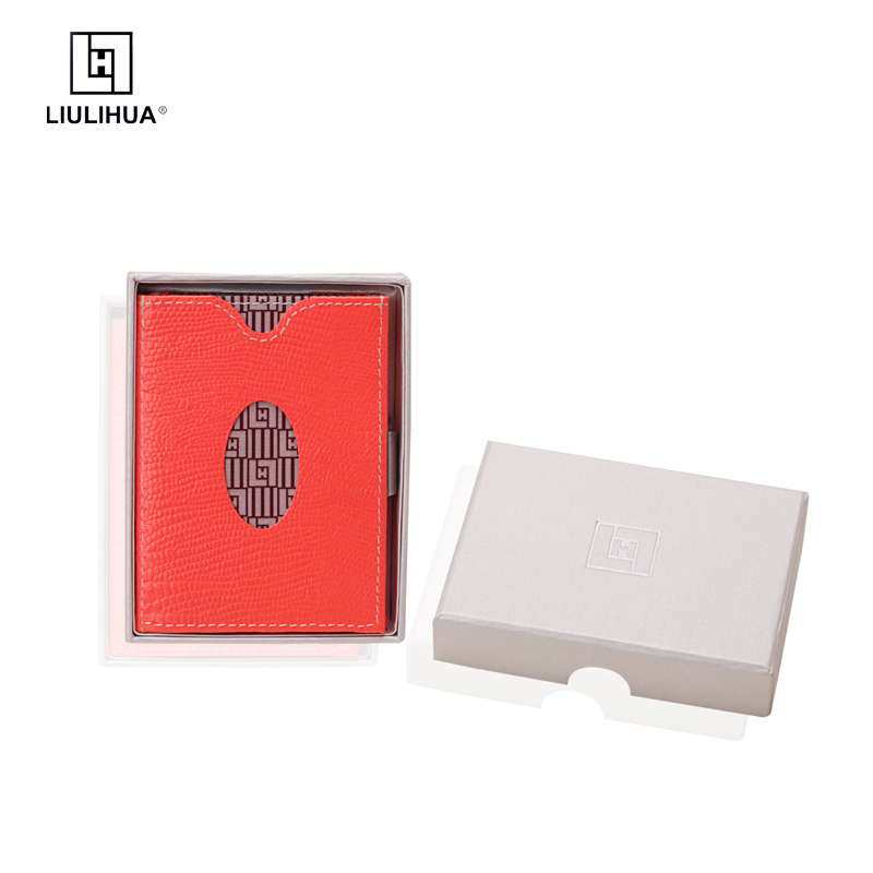 ФОТО hot selling trifold genuine leather branded wallet for men