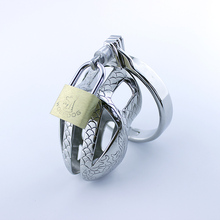 short CB6000S Stainless steel male chastity device cage sex toy CB6000 Bondage cock lock