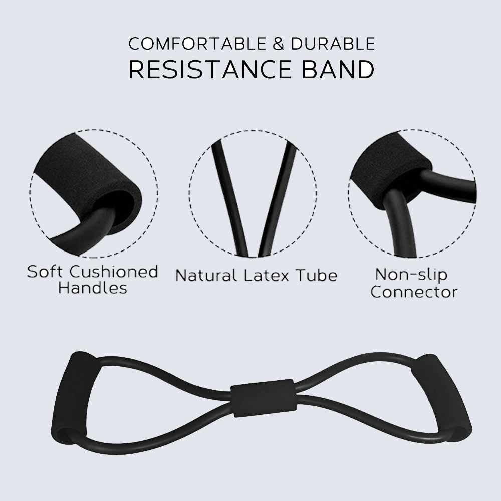 8 Word Fitness Rope Resistance Bands Rubber Bands for Fitness Elastic Band Fitness Equipment Expander Workout Gym Exercise Train 1