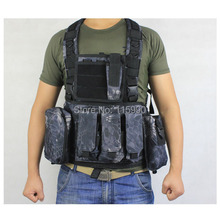Kryptek Typhon chest rig Tactical M4 RRV Chest Rig Paintball Vest Airsoft vest military molle vest
