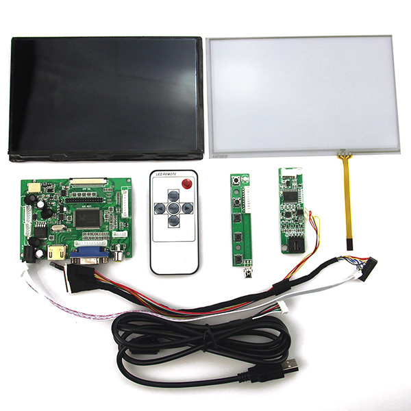LCD Controller Board + 7inch 1280*800 1280x800 N070ICG-LD1 Touch Panel Screen + LVDS Cable for RanasPi RPi