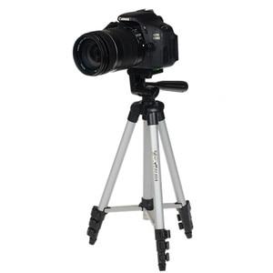 Image 3 - WF 3110A חצובה עם 3 הדרך HeadTripod לניקון D7100 D90 D3100 DSLR Sony NEX 5N A7S Canon 650D 70D 600D GoPro גיבור 4 3 +/3/2/1