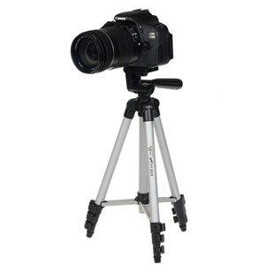 Image 3 - WF 3110A Tripod With 3 Way HeadTripod for Nikon D7100 D90 D3100 DSLR Sony NEX 5N A7S Canon 650D 70D 600D GoPro Hero 4 3+/3/2/1