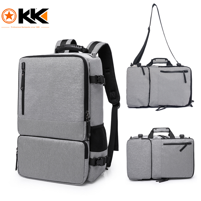 KAKA High Capacity 15 6 inch Laptop Anti theft Backpack Men Business Luggage Shoulder Bags Waterproof