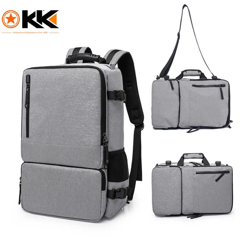 KAKA High Capacity 15.6 inch Laptop Anti theft Backpack Men