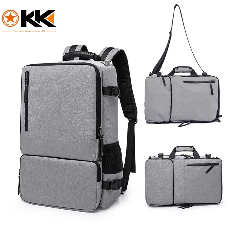 קאקה גבוהה קיבולת 17.3 inch מחשב נייד נגד גניבת תרמיל גברים מזוודות עסקי כתף תיקי Waterproof נסיעות תרמילי ילקוט
