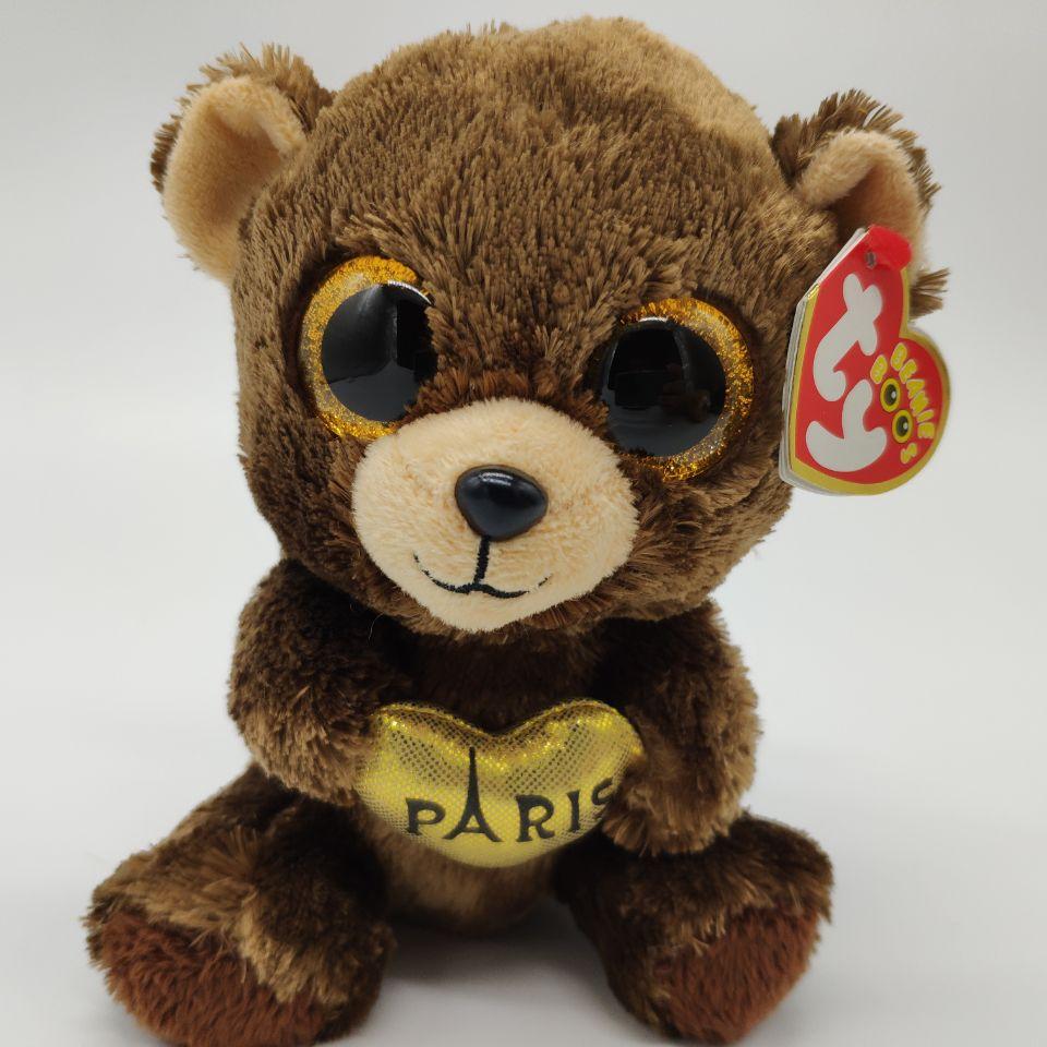 Darcy Bear Ty Beanie Boos 15Cm 6-8342