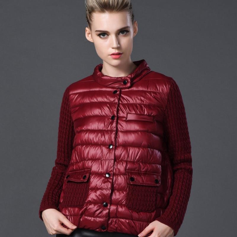 Le Bas Femelle J065 red En Coton Jacket Haut De Pardessus Décontracté 7xl Tricot Taille Vêtements green Femme Grande Européenne Pour Manteau D'hiver Vers Patchwork 2019 Black Ee9H2WDIYb