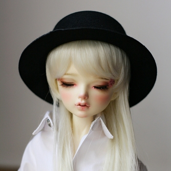 BJD Black Cap Hat For 1/6 1/4 MSD 17 1/3 24 60CM Tall Female BJD doll  SD  DK DZ AOD DD Doll use free shipping HEDUOEP bjd sd doll supiadoll ariel 1 3 bjd doll eyes get a free makeup
