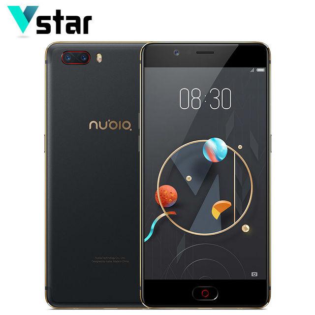 Original Nubia M2 4GB RAM 128GB ROM Snapdragon 625 Octa Core 64 bit Mobile Phone 5.5 inch LTE Android 13.0MP+13.0MP+16.0MP