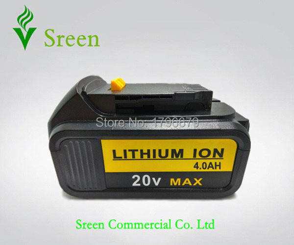Power Tool Rechargeable Lithium Ion Battery 4000mAh Replacement for DEWALT 18V DCB200 DCB201 DCB203 DCB204 DCB181 DCB182 DCB180 14 4v c 4000mah power tool battery for dewalt dcb140 xj dcb140 dcd735l2 dcf835c2 dcf835l2 dcl030 xr dcd936l2