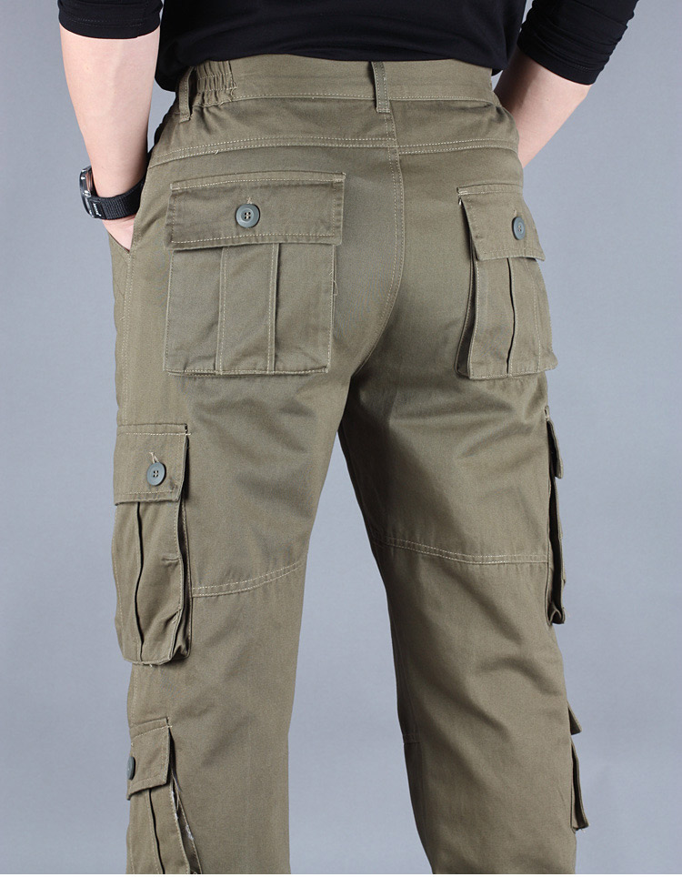 19 Spring Winter Military Pants Men Khaki Cargo trousers Casual Cotton Tactical Pants Men Big Size Army Overol Hombre 8