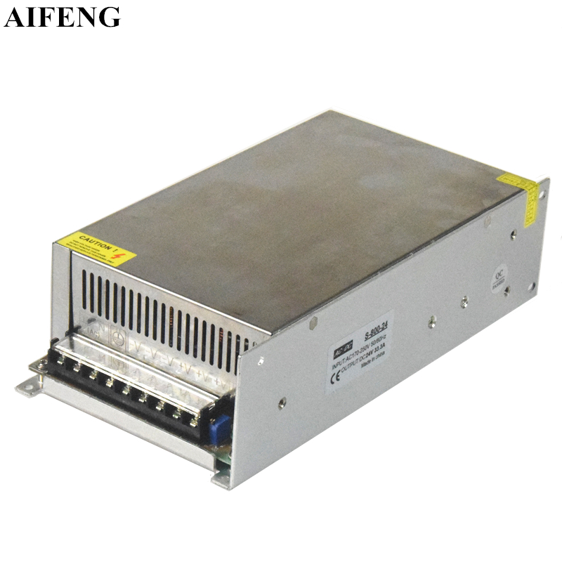 AIFENG 800W Switching Power Supply 16.6A 33.3A 66.6A Power Supply AC 170V-250V To DC 12V 24V 48V Transformer For Led Strip LightAIFENG 800W Switching Power Supply 16.6A 33.3A 66.6A Power Supply AC 170V-250V To DC 12V 24V 48V Transformer For Led Strip Light