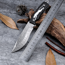 The King Navajas Cuchillos Outdoor Utility Knife Cs Go Hunting Combat Knives Facas Taticas Cold Steel Survival Tactical Knife