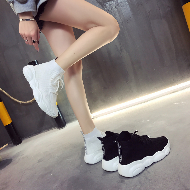 YRRFUOT Spring New Women's Running Shoes High Quality Outdoor Non-slip Sports Shoes Brand Light Breathable Women Socks Sneakers
