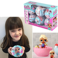 6pcs Lot 7 Layers Surprise Ball Series LOL SURPRISE SURPRISE DOLL Baby Tear Open Color Change