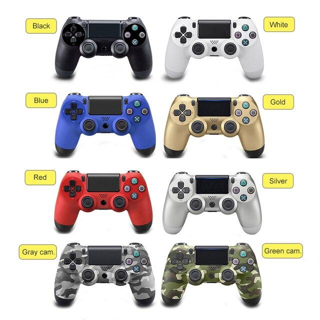 Controlador Remoto sem fio Bluetooth Gamepad para Sony Playstation 4 PS4 4 Dualshock4 Joystick Gamepad Controlador Para PlayStation