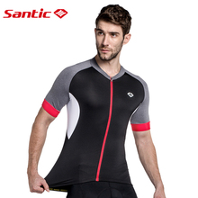 Santic New Cycling Jersey Men 2017 Cycling clothing Short Jersey Cycling Bike Shirt Cycling Jersey MTB Cycling Pro Team KJ6301H santic 2017 green light mtb cycling jackets raincoat windproof men waterproof outdoor mtb cycling jersey bike racing jackets