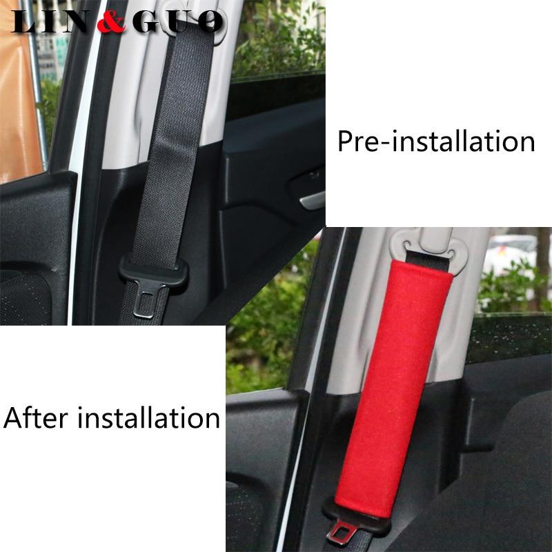 10PCS Car Auto Safety Seat Belt Harness Shoulder Pad Cover Children