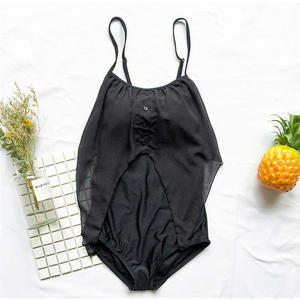 83359da648 2018 Sexy One Piece Push Up Beach Wear White Swimwear Bathing Suit