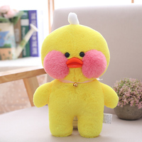 30/50cm Adorable Lalafanfa Yellow Blue Duck Plush Toy Stuffed Animal Toy Cafe Mimi Toy For Fans Valentine Gift