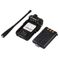 uv 5r uv Baofeng UV-5R מכשיר הקשר מקצועי CB רדיו תחנת משדר 5W VHF UHF Portable UV 5R ציד Ham Radio בספרד DE (4)