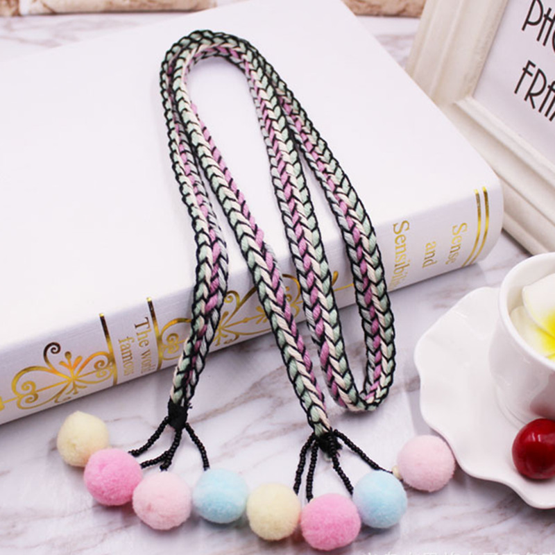 10pcs length 1 meters diy handmade beaded hanging spike ethnic ribbon fringe colorful style skirt belt gown hat lace Accessories