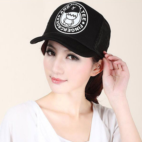 Unisex Adult Baseball Cap Sunscreen Peaked Cap Truck  Hip-hop Style Hat Black New H7