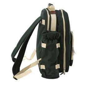 Image 4 - Outdoor Camping Portable Shoulder Picnic Bag Picnic Backapck Rucksack BBQ Tool Package 4 Persons