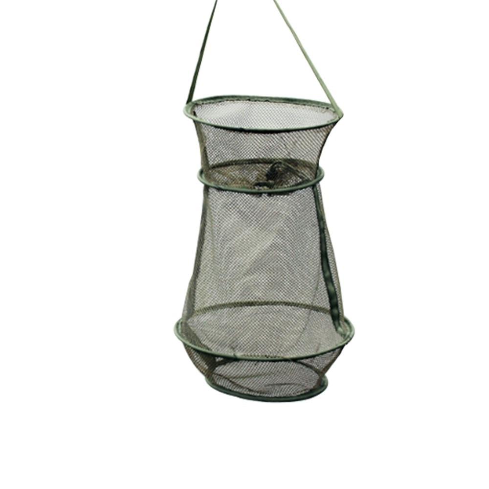 Small mesh fishing net foldable crab fish crawdad shrimp for Small fishing net