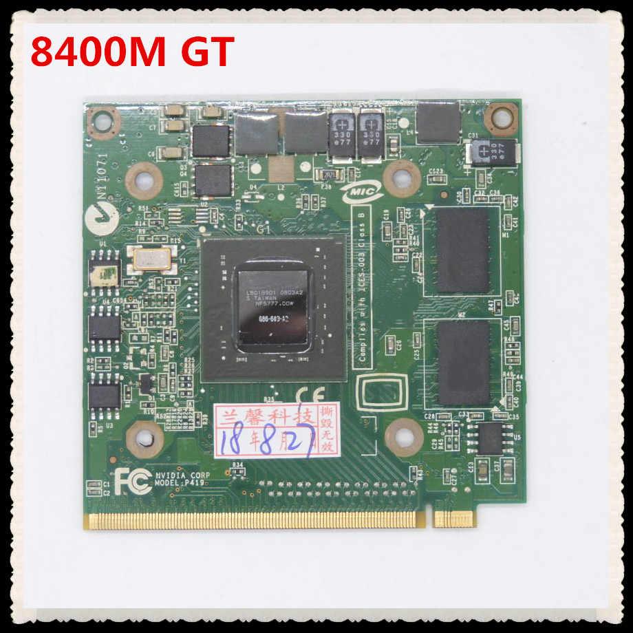 بطاقة الرسومات VGA 8400M GT 8400M G MXM II DDR2 128MB G84-603-A2 للكمبيوتر المحمول Acer 4520G 5520G 5920G 7720G 6930