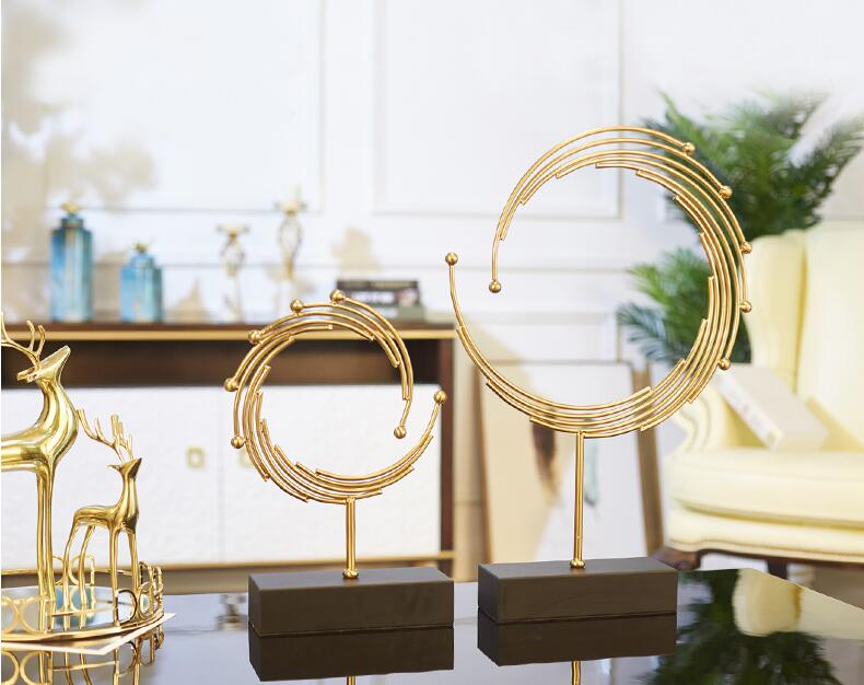 Modern contracted new Chinese light luxurious creative office sitting room tea table TV cabinet household adornment porch is dec in Bottles Jars Boxes from Home Garden