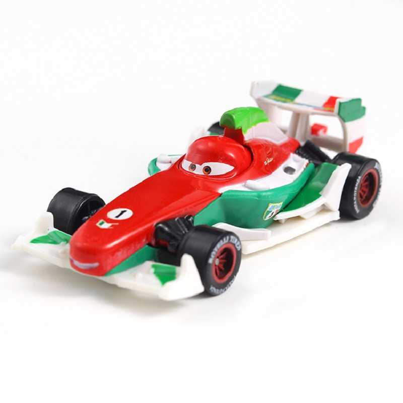 Disney Pixar Cars 3 Cars 2 Francesco Bernoulli Metal Diecast Toy Car Lightning McQueen Loose Brand New In Stock Free Shipping