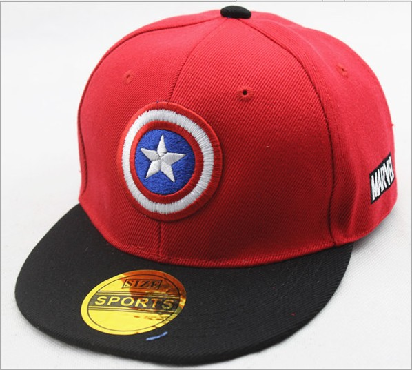 New baby boy Girl Tot Super League US Captain Five-pointed Hat
