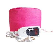 Интеллектуальный Электрический спа-уход за волосами шапочка Термическое Лечение Красота Пароварка безопасность Подогрев электрические питательные Фены для волос
