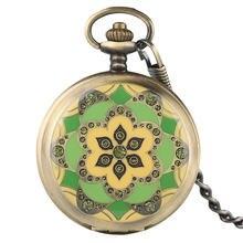 Роскошные механические ручные карманные часы для мужчин кормящих