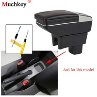 For SUZUKI Swift Car Accessories 2005 2018 Armrest Box Central Console Arm Rest Box Cup Holder Ashtray Car styling Seat Armrests