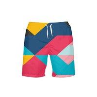 2019 3D Prints Swimwear UV Protection Surf Beach Shorts Man Swimsuit Quick Dry Bathing Swimming Short For Men Swim Trunks Summer