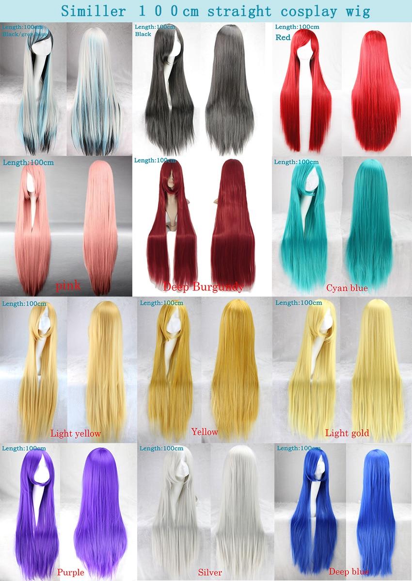 Long Straight Women's Wigs 15