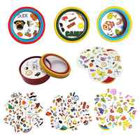 2019 New Spot Board Game Dobble Cards Spot It Game For Children Focus On Training Family Toys Entertainment 55 Cards/set