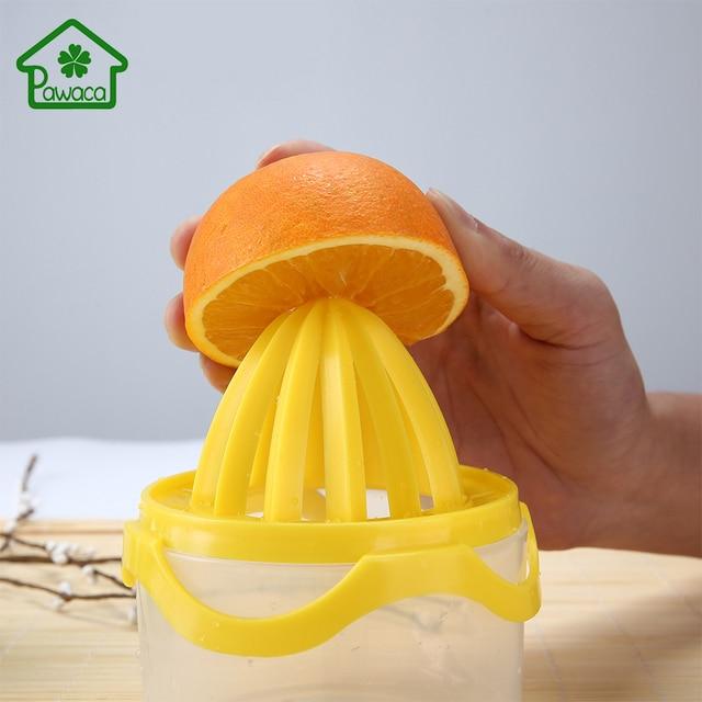 1pcs Hand Manual Orange Lemon Juice Press Squeezer With Measuring Cup Kitchen Citrus Juicer Fruit Tools