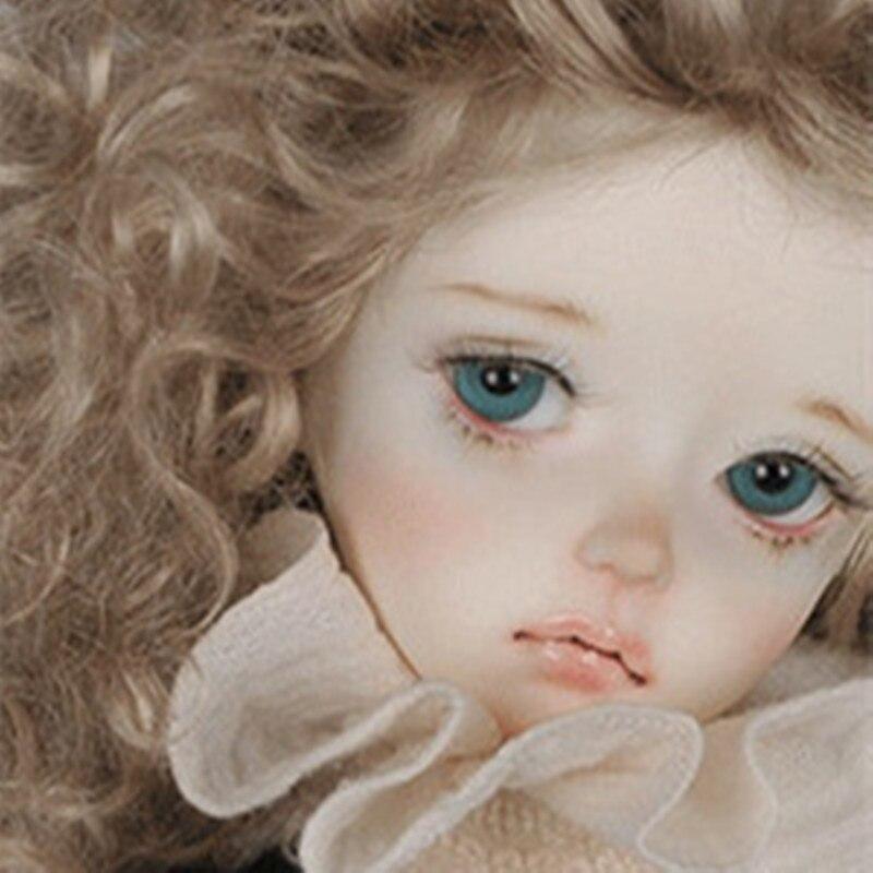 Neue Ankunft 1/4 BJD Puppe BJD/SD weibliche baby 4,3 puppe männlichen baby spezielle Puppe Für Baby Mädchen Geburtstag geschenk Freies Verschiffen