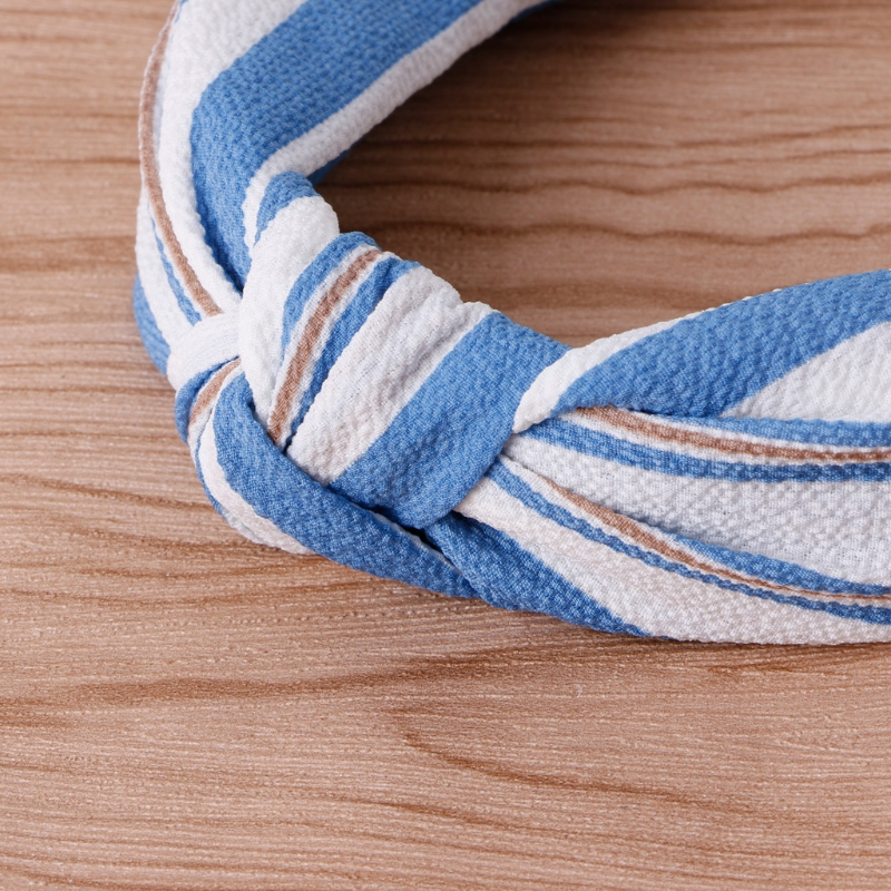 Women Bohemian/Stripe Twisted Knotted Cloth Headband Flower Floral Wide Hair Band Elastic Turban New Fashion Hair Decoration