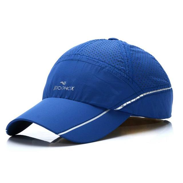 Quick dry  male female sport hat big size 62cm baseball cap adjustable breathable mesh caps fashion leisure snapback visor