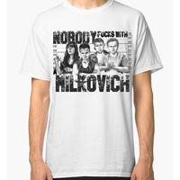 Shameless Milkovich Art T Shirt Mickey Milkovich Men S Women S Tee Harajuku Funny Rick Tee