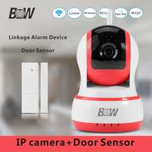 Mini IP font b Camera b font Wifi Night Vision Alarm Sensor font b Door b