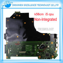 K56CB Laptop Motherboard für ASUS mit I5 CPU Nicht integrierte K56CM mainboard 100% Getestet & Free Verschiffen