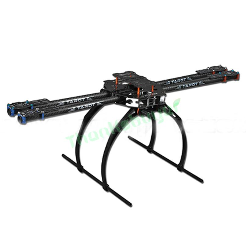 Tarot FY650 Tarot IRON MAN 650 Quadcopter Carbon Fiber Tubes  Multicopter Frame-TL65B02 FPV Aircraft f05548 iron man 650 carbon fiber 4 axle aircraft fully folding fpv quadcopter frame kit tl65b01 fs